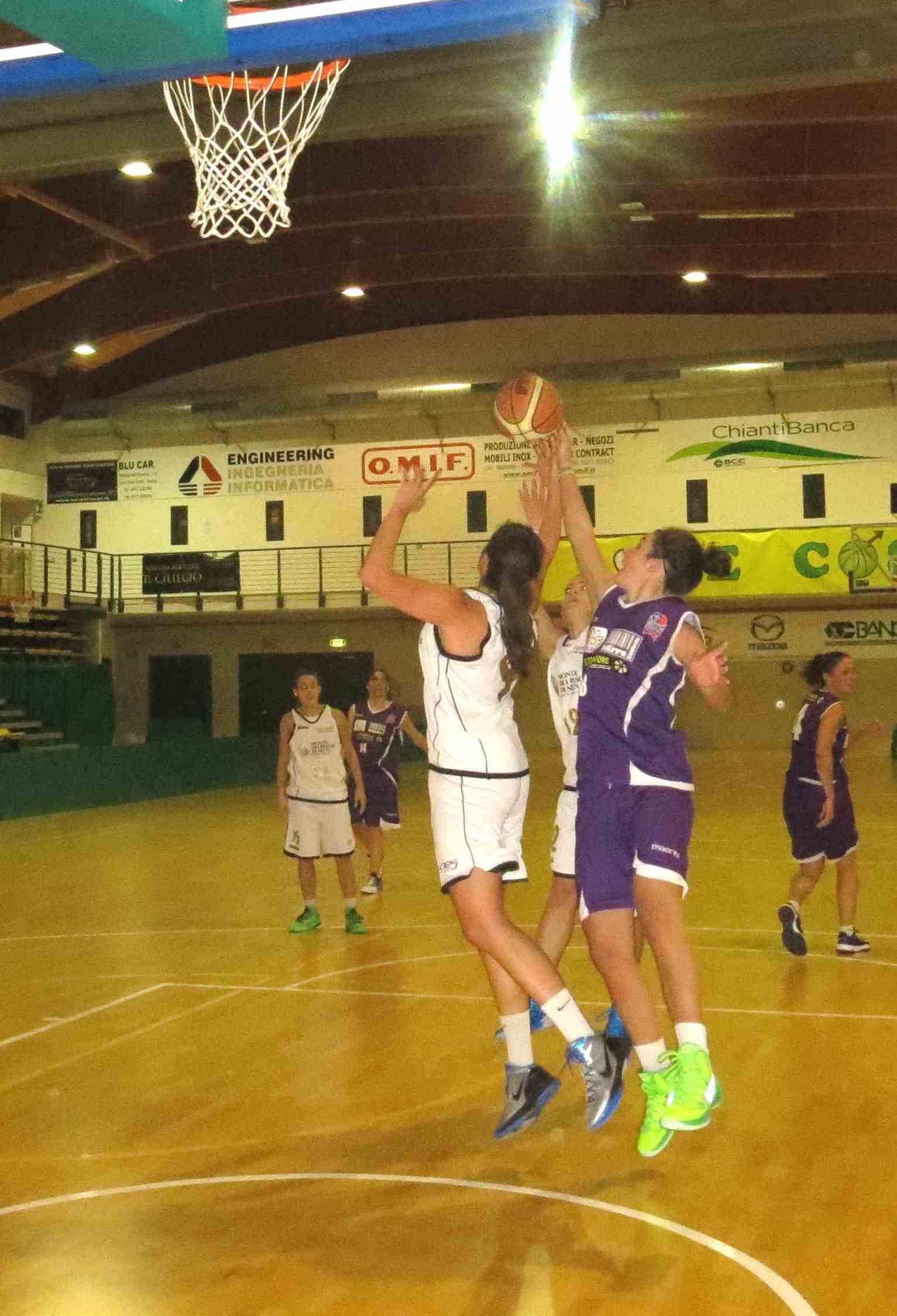 tuttobasket Florence-Mps azione