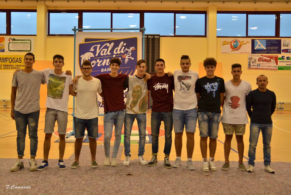 Valdicornia Basket, under 18 eccellenza