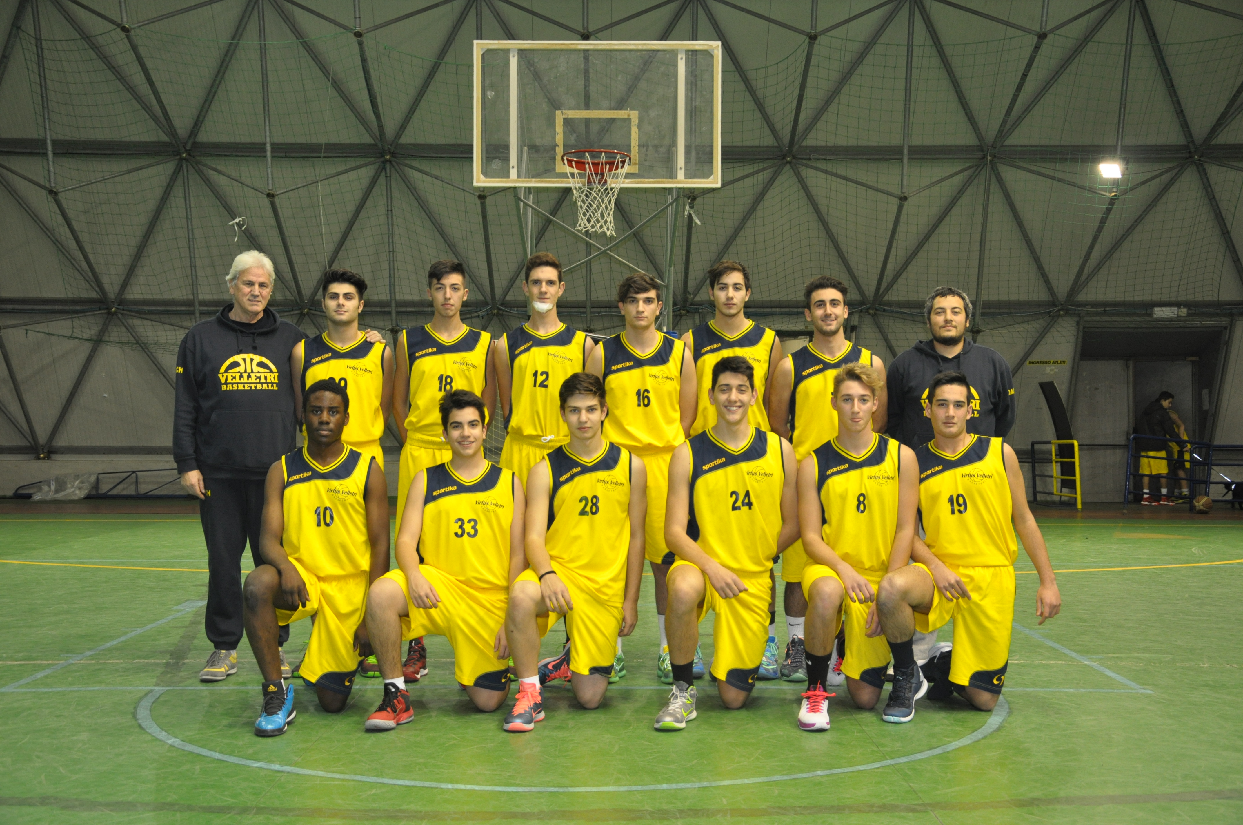 Under 18 Virtus Velletri - Stagione 2015-2016